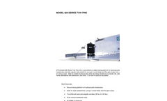 HTI - 620 Series - Towed Fins Brochure