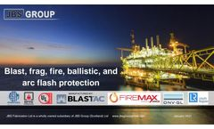 JBS Group - Pressure Test and Explosive Blast Containment - Brochure