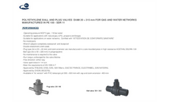 Valves for Gas & Water - Brochure