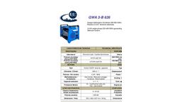 Generating Set GWA 3-B 626- Brochure