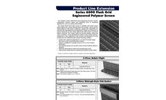 Hydrolox - Series 6000 - Flush Grid Engineered Polymer Screen Brochure