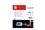 Scarlet - Model WL-11 - Wireless Wind Speed Data Logger Anemometer - Brochure