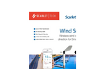 Scarlet - Model WS - Wind Smart Bluetooth Anemometer - Brochure