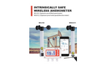 Scarlet - Model WS-E10 / WSD-E11 - Intrinsically Safe Wireless Anemometer - Brochure