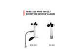 Scarlet - Model WSD-E10 /E11 - Intrinsically Safe Wireless Anemometer - User Manual