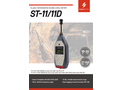 Scarlet - Model ST-11/11D - Class 1 Integrated Sound Level Meter - Brochure