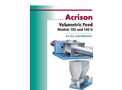 Model 105 and 140 Series - Dissimilar Speed Double Concentric Auger Metering Volumetric Feeders Brochure