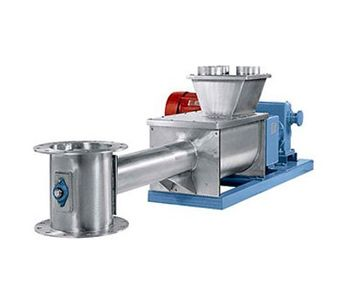Model 350 Series - Dissimilar Speed Double Concentric Auger Blenders