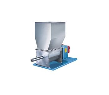 Model 105 and 140 Series - Dissimilar Speed Double Concentric Auger Metering Volumetric Feeders