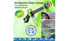 Powerful Soap Dispenser Jet Water Spray Gun Washing Cannon