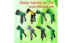 Pistol Trigger Garden Hose Spray Nozzle Gun Set, Water Hose Trigger Nozzle Gun Set, Adjustable Garden Watering Hose Pistol Spray Gun, Jet Pistol Garde
