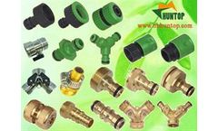 Brass Garden Hose End Fitting Connectors Manufacturer Huntop China, water hose quick connectors
