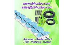 Micro Irrigation Drip Kit China Huntop, Automatic Plant Watering System