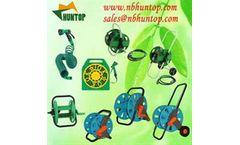 Garden Yard Water Hose Set with Spray Nozzle, garden hose reel cart, hose pipe reel trolley