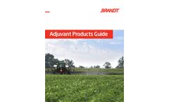Adjuvants - Spray Applications Brochure
