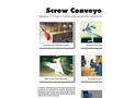 Screw Conveyors - Leaflet