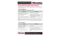 McLanahan - Dewatering Screens Brochure