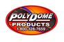 PolyDome - Model PD-1009NS - High Door Natural Shell & Vent Only