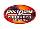 PolyDome - Model PD-1009WS - High Door White Opaque Shell & Vent Only