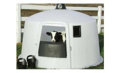 PolyDome - Model PD-1009 - Calf Nursery