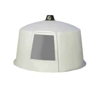 PolyDome - Model PD-1009A - Mini Animal Dome Shells and Vent Only