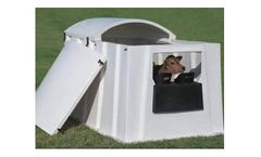 PolyDome - Model PD-1185RP - Roof Panels to Convert Indoor to Outdoor Nursery