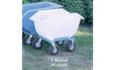 PolyDome - Model FC-2046 - 7 Bushel Feed Cart W/ 10 Inch Wheels