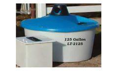 PolyDome - Model LT-2125 - 125 Gallon Lick Tank