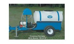 PolyDome Milk Master - Model TM-0070 - 70 Gallon Portable Milk Mixer 6.5 HP Honda