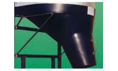 PolyDome - Model 3232 - Non Swivel Silo Hopper