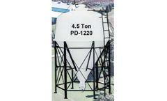 PolyDome - Model PD-1220 - 4.5 Ton Bulk Bin