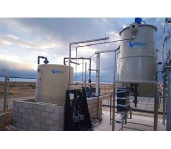 Treatment at the Ibiza Airport Water Treatment Plant