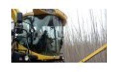 Harvesting trials in Northern Spain Video
