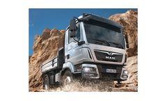 MAN - Model TGM - Truck for Building Site & Heavy-Duty