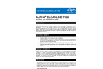 ALPHA - Model 7000 - Cleanline Cored Wire Brochure