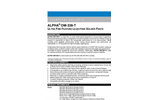 Alpha - Model OM-535 - Lead-Free Zero-Halogen Solder Paste for Low Temperature Reflow Applications Brochure