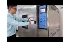 Temperature Humidity Test Chamber Video