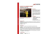 Multiurethanes - Crack Flushing Agent Brochure