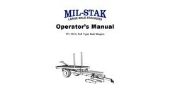 PT/2016 Operators Manual