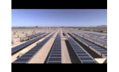 Juwi Solar`s Installation Time Lapse, a 25MW DTHZ Solar Tracking Project Video