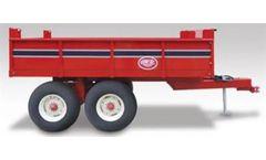 Weberlane Econo-Tilt - Model WL8ET - Deckover Wagons Trailer
