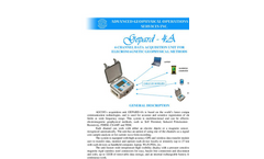AGCOS - GEPARD-4A - 4-Channel Multifunction Geophysical EM Receiver Datasheet