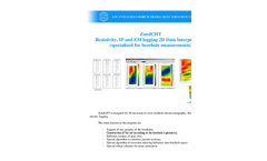 ZondCHT - Resistivity, IP and EM logging 2D Data Interpretation Software Brochure