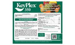 KeyPlex - Model 350 - Formulation Brochure