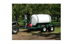 Model ATT-200-WB-D252-3H 200 Gallon - Walking Beam Trailer Sprayer