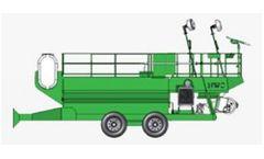 CAPS - Model 3300 EL - Hydroseeders Equipment