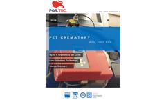 For.Tec. - Model FIDO - Pet Cremators - Brochure