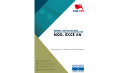 For.Tec. - Model EXCE AN - Animal Carcasses and Organic Waste Incinerator - Brochure