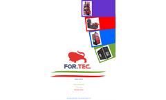For.Tec. - Model Ecotec - Waste Incinerators - Brochure