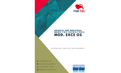 For. Tec. - Model EXCE OS - Hospital and Industrial Waste Incinerators - Brochure